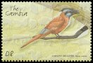 Cl: Northern Carmine Bee-eater (Merops nubicus)(Repeat for this country)  SG 4129d (2001)