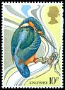 Cl: Common Kingfisher (Alcedo atthis) SG 1109 (1980) 25