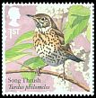 Cl: Song Thrush (Turdus philomelos) SG 3954 (2017)