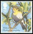 Cl: Willow Warbler (Phylloscopus trochilus) SG 3950 (2017)