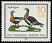 Cl: Red-breasted Goose (Branta ruficollis) <<Rothalsgans>>  SG 2663 (1985) 15