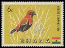 Cl: Black-winged Bishop (Euplectes hordeaceus) SG 220 (1959) 150