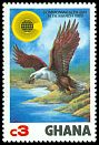 Cl: African Fish-Eagle (Haliaeetus vocifer) SG 1022 (1983) 150