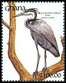 Cl: Black-headed Heron (Ardea melanocephala) SG 1606 (1991) 0