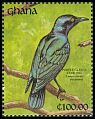 Cl: Purple Glossy-Starling (Lamprotornis purpureus) SG 1618 (1991) 0