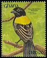 Cl: Yellow-shouldered Widowbird (Euplectes macrourus) SG 1619 (1991) 0