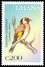 Cl: European Goldfinch (Carduelis carduelis)(Out of range)  SG 2533 (1997) 60