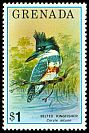 Cl: Belted Kingfisher (Ceryle alcyon) SG 768 (1976) 550