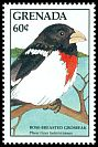 Cl: Rose-breasted Grosbeak (Pheucticus ludovicianus) SG 1765 (1988) 100