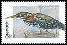 Cl: Green Heron (Butorides virescens) SG 1995 (1989) 0