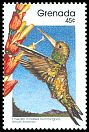 Cl: Green-throated Carib (Eulampis holosericeus) SG 1999 (1989) 0