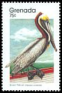 Cl: Brown Pelican (Pelecanus occidentalis)(Repeat for this country)  SG 2002a (1989) 60