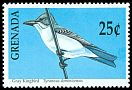Cl: Grey Kingbird (Tyrannus dominicensis) SG 2157 (1990) 0