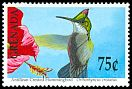 Cl: Antillean Crested Hummingbird (Orthorhyncus cristatus) SG 2159 (1990) 0