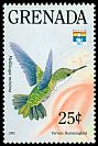 Cl: Vervain Hummingbird (Mellisuga minima)(Out of range and no other stamp)  SG 2397 (1992) 30