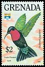 Cl: Purple-throated Carib (Eulampis jugularis) SG 2401 (1992) 0