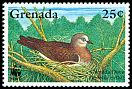 Cl: Grenada Dove (Leptotila wellsi)(Endemic or near-endemic)  SG 2795 (1995) 40