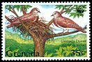 Cl: Grenada Dove (Leptotila wellsi)(Endemic or near-endemic)  SG 2796 (1995) 45