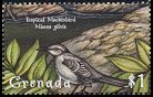 Cl: Tropical Mockingbird (Mimus gilvus)(Repeat for this country)  SG 3919 (2000)