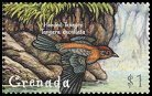 Cl: Lesser Antillean Tanager (Tangara cucullata)(Endemic or near-endemic)  SG 3924 (2000)