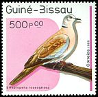 Cl: African Collared-Dove (Streptopelia roseogrisea) SG 1100 (1989) 90