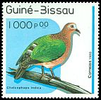 Cl: Emerald Dove (Chalcophaps indica)(Out of range)  SG 1102 (1989) 175