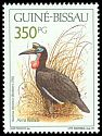Cl: Abyssinian Ground-Hornbill (Bucorvus abyssinicus) SG 1218 (1991) 55