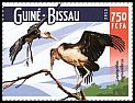 Cl: Marabou Stork (Leptoptilos crumeniferus)(Repeat for this country) (I do not have this stamp)  new (2015)