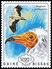 Cl: Egyptian Vulture (Neophron percnopterus)(I do not have this stamp)  new (2014)