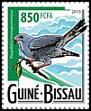 Cl: Lizard Buzzard (Kaupifalco monogrammicus)(Repeat for this country) (I do not have this stamp)  new (2015)