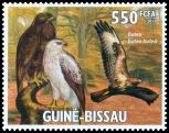 Cl: Eurasian Buzzard (Buteo buteo)(Out of range) (I do not have this stamp)  new (2011)  [7/31]