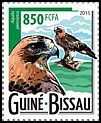 Cl: Booted Eagle (Aquila pennata)(I do not have this stamp)  new (2015)