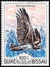 Cl: Martial Eagle (Polemaetus bellicosus)(I do not have this stamp)  new (2015)