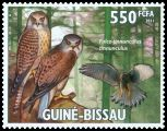 Cl: Eurasian Kestrel (Falco tinnunculus)(I do not have this stamp)  new (2011)  [7/31]