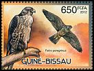 Cl: Peregrine Falcon (Falco peregrinus)(I do not have this stamp)  new (2012)  [8/18]