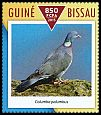 Cl: Common Wood-Pigeon (Columba palumbus)(Out of range) (I do not have this stamp)  new (2015)