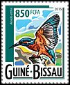 Cl: Common Kingfisher (Alcedo atthis)(Out of range) (I do not have this stamp)  new (2015)