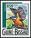 Cl: African Pygmy-Kingfisher (Ispidina picta)(I do not have this stamp)  new (2015)