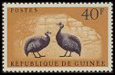 Cl: Helmeted Guineafowl (Numida meleagris)(Repeat for this country)  SG 280 (1961)  [3/19]
