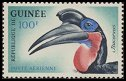 Cl: Abyssinian Ground-Hornbill (Bucorvus abyssinicus) SG 361 (1962)