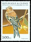 Cl: Chaffinch (Fringilla coelebs)(Out of range)  SG 1632 (1995) 60