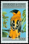 Cl: Orange Bishop (Euplectes franciscanus)(Repeat for this country)  SG 1696 (1996) 60