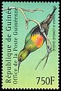 Cl: Beautiful Sunbird (Cinnyris pulchella) <<Souimanga &agrave; longue queue>> (Repeat for this country)  new (2001)