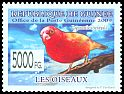 Cl: Red-billed Firefinch (Lagonosticta senegala)(Repeat for this country) (I do not have this stamp)  new (2009)  [7/34]