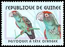 Cl: Red-fronted Parrot (Poicephalus gulielmi) <<Perroquet &agrave; t&ecirc;te orangee>>  new (2001)