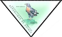 Cl: Jackal Buzzard (Buteo rufofuscus)(Out of range) (I do not have this stamp)  new (2011)  [7/36]