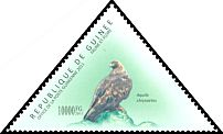 Cl: Golden Eagle (Aquila chrysaetos)(Out of range) (I do not have this stamp)  new (2011)  [7/36]
