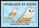 Guinea <<Chouette effraie>> new (2001)