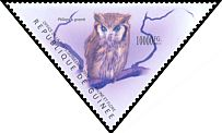 Cl: Southern White-faced Owl (Ptilopsis granti)(Out of range) (I do not have this stamp)  new (2011)  [7/36]