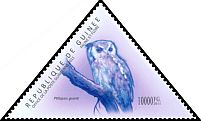 Cl: Verreaux's Eagle-Owl (Bubo lacteus)(I do not have this stamp)  new (2011)  [7/36]